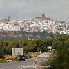 Approaching Arcos de la Frontera from the east