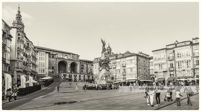 Plaza de la Virgen Blanca. Vitoria