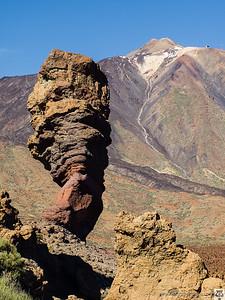 Roque Cinchado (Parque Nacional del Teide)