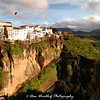 View across the gorge - Ronda, Spain