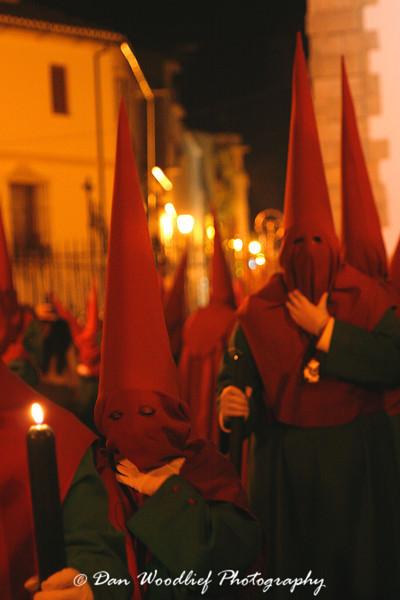Semana Santa (Holy Week) Procession in Ronda, Spain.