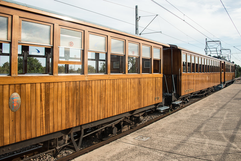 0396-7266 Soller to Palma wooden train, Mallorca, September 14 2013