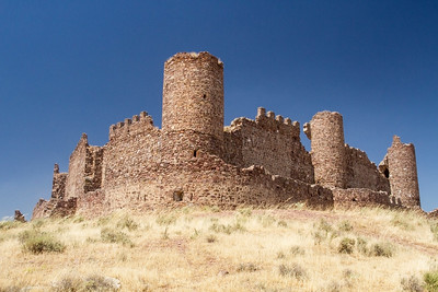 Almonacid castle, Toledo, Spain 26 July 2013