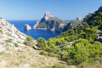 Formentor, Mallorca, Spain 29 September 2017