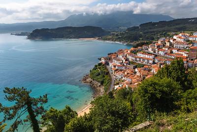 Lastres, Asturias, Spain.