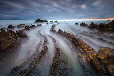Barrika Beach, Biscay. Basque Country, Spain.