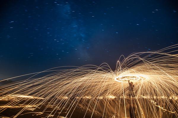 "Night Landscape ""The Wizard of Oceanside"""