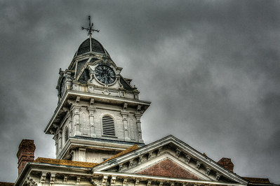 Sparta Courthouse Clock Tower August 9 2014