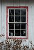 Window on the Copper Fox Antique store.