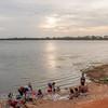 Late afternoon in Anuradhapura.