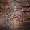 Mural paintings at Golden Temple of Dambulla.