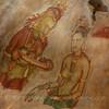 Frescoes of ladies at Sigiriya, whose identity has not been confirmed.