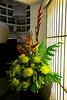 Flower arrangement - hotel Cinnamon Bay
