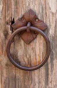 Door Pull Detail
