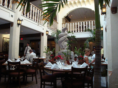 The Columbia Restaurant on St. George Street. Outstanding tapas and Latin meals.