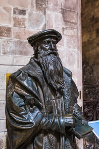 Statue of John Knox, St Giles Cathedral