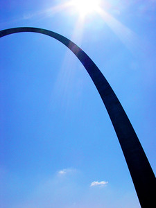The Gateway Arch; Gateway to the West; Jefferson National Expansion Memorial; St. Louis, Missouri