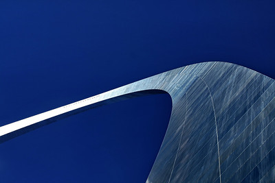 Alternative View of the Gateway Arch; Jefferson National Expansion Memorial; St. Louis, Missouri