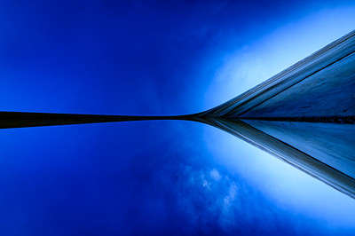 St Louis Gateway Arch Abstract