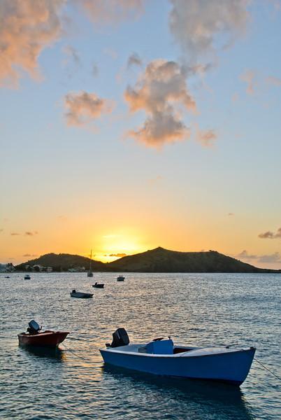 Sunset Mooring