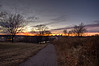 Winter Sunset St Paul Skyline