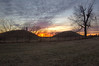 Indian Mounds Sunset