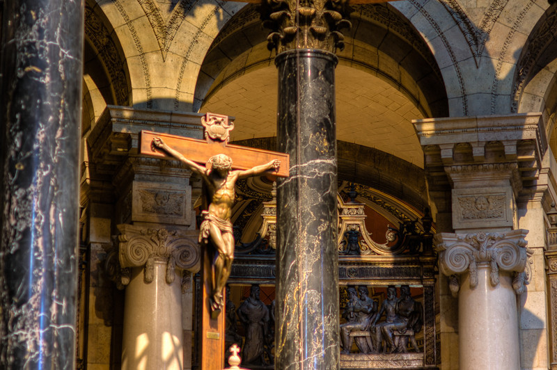 Crucifix in the Cathedral