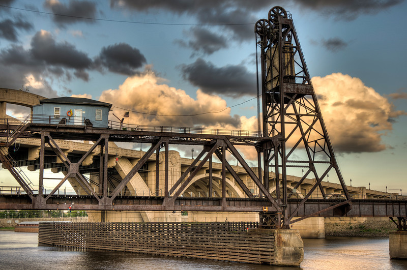 Rail Bridge in St Paul
