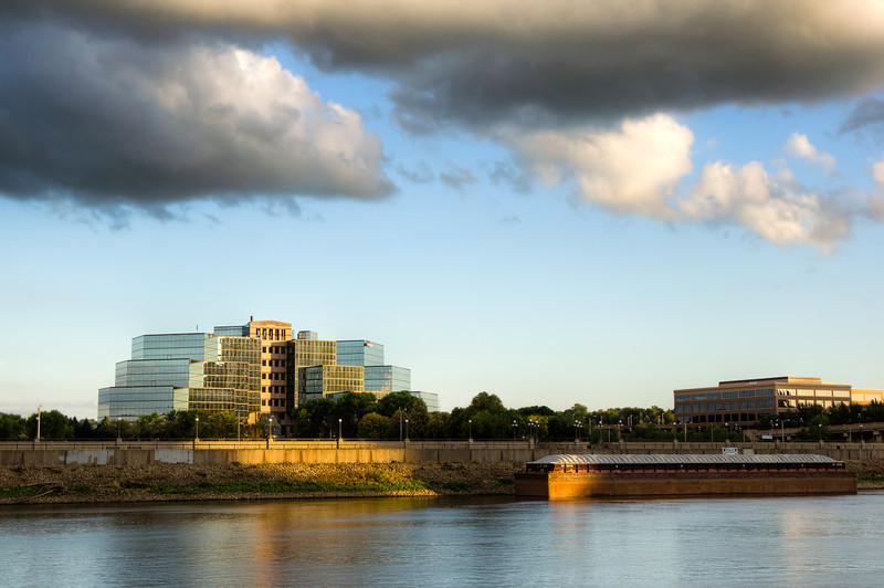 A Warm Ray on the Riverfront