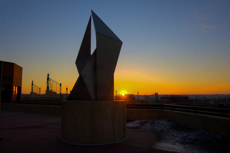 Sculpture Sunrise