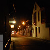The spooky streets of St.Augustine late at night.