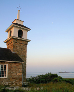 Chapel Moonset