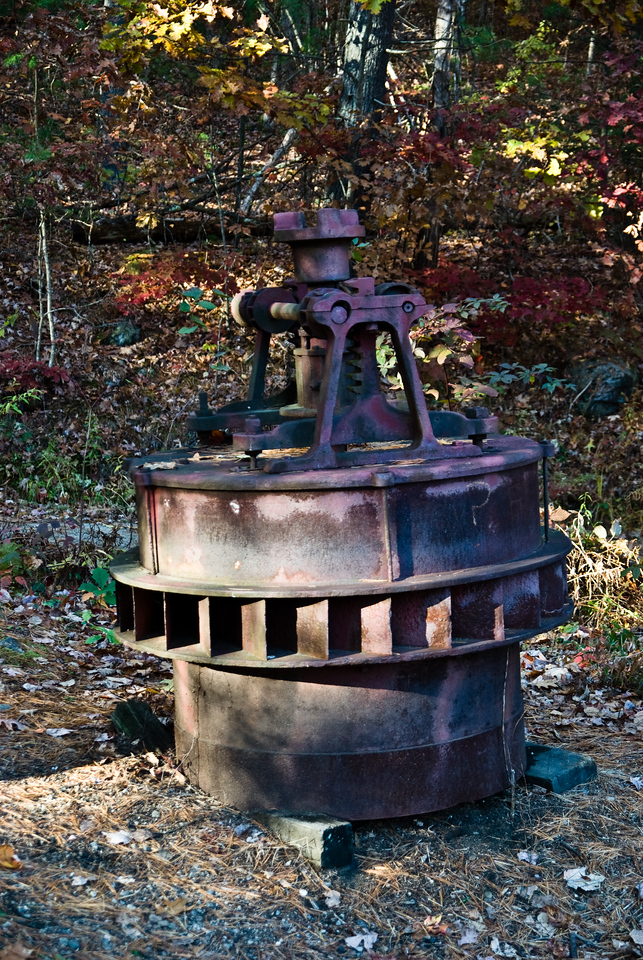 Turbine brought from another site.
