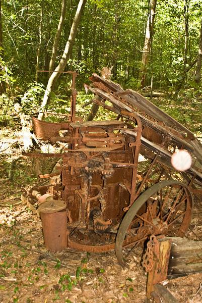 Old Farm Equipment Graveyard