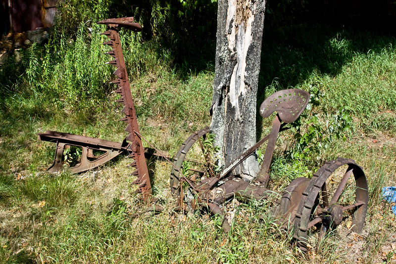 One not in the Old Farm Equipment Graveyard