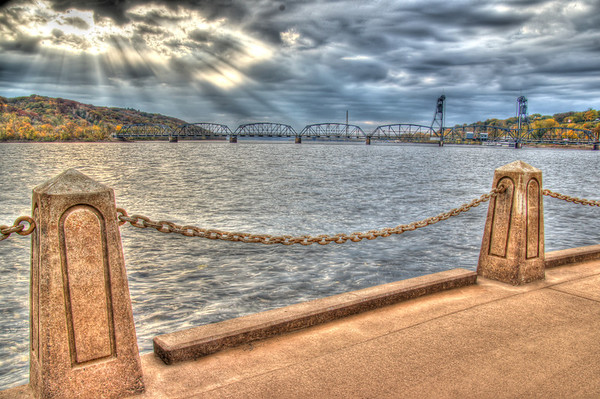 Stillwater Lift Bridge HDR