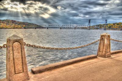 Stillwater Lift Bridge HDR