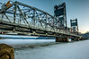 Stillwater Lift Bridge in Winter