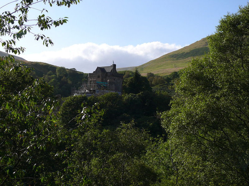 Castle Campbell, Dollar.<br /> 20th August 2011