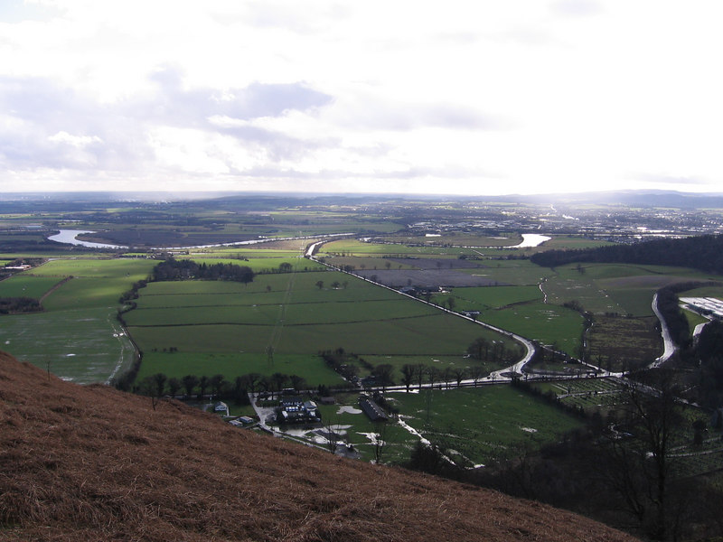 View to the East from Sheriffmuir.<br /> 3rd March 2007.