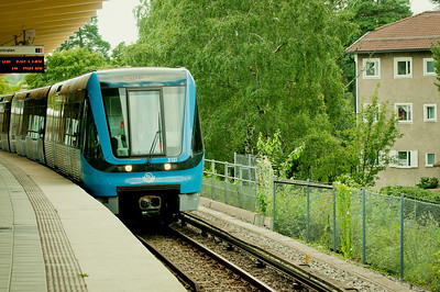 Tunnelbanan.