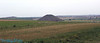 Silbury Hill, looking from kennet long barrow.
