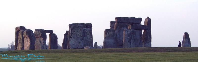 Approaching Stonehenge.