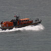 Portpatrick's lifeboat at sea.<br /> 30th May 2011.
