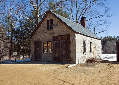 Blacksmith shop from Bolton, MA.