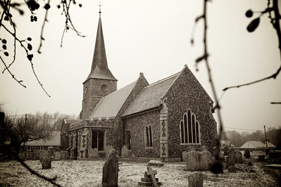 Great Cornard Church, December 2010