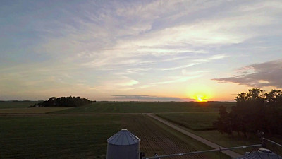 Summer Sunset Time Lapse