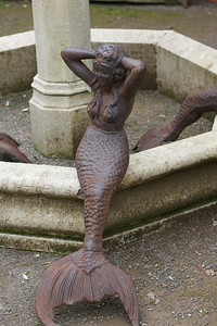 Sonoma garden mermaid
