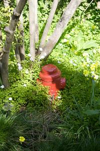 Garden hydrant