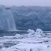 Brasvellbreen Glacier Waterfall